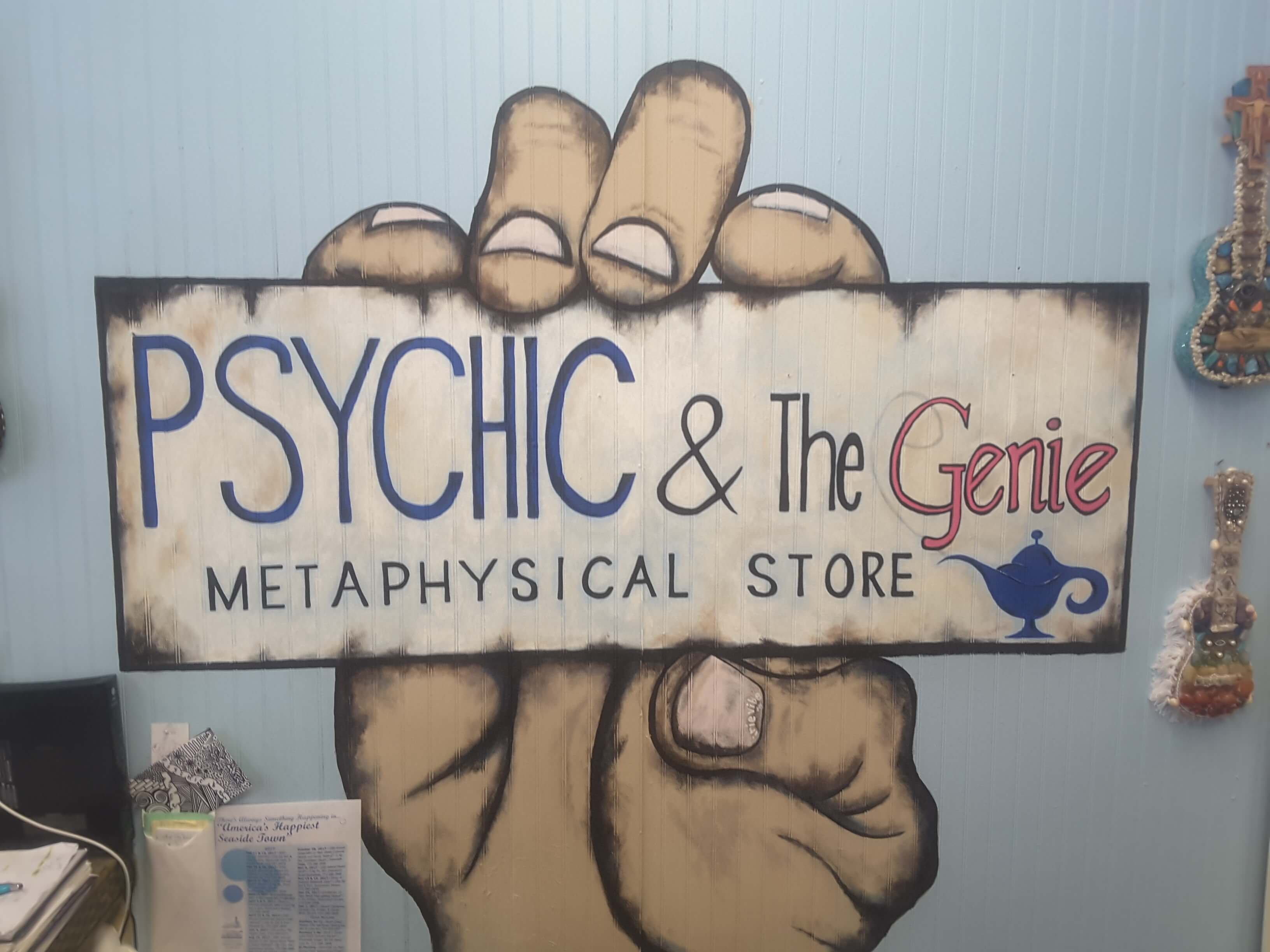 Psychic and the Genie Metaphysical Store